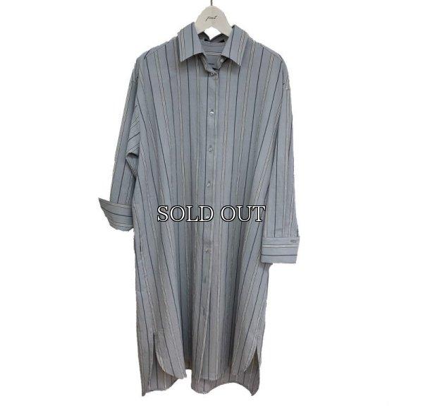 画像1: [PNT]ワッシャーストラプBIGシャツ (1)
