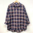 画像7: [cocora]シャツ・ブラウス 後ろタック七分袖チェックシャツ (7)