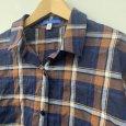 画像8: [cocora]シャツ・ブラウス 後ろタック七分袖チェックシャツ (8)