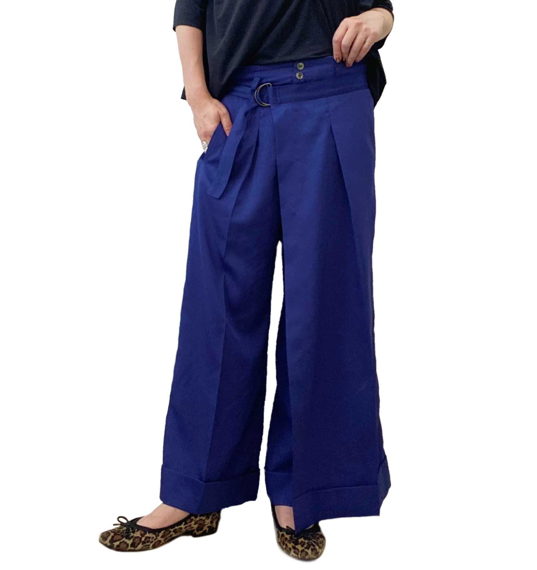 政井マヤさん、Arnevのラップパンツを着用